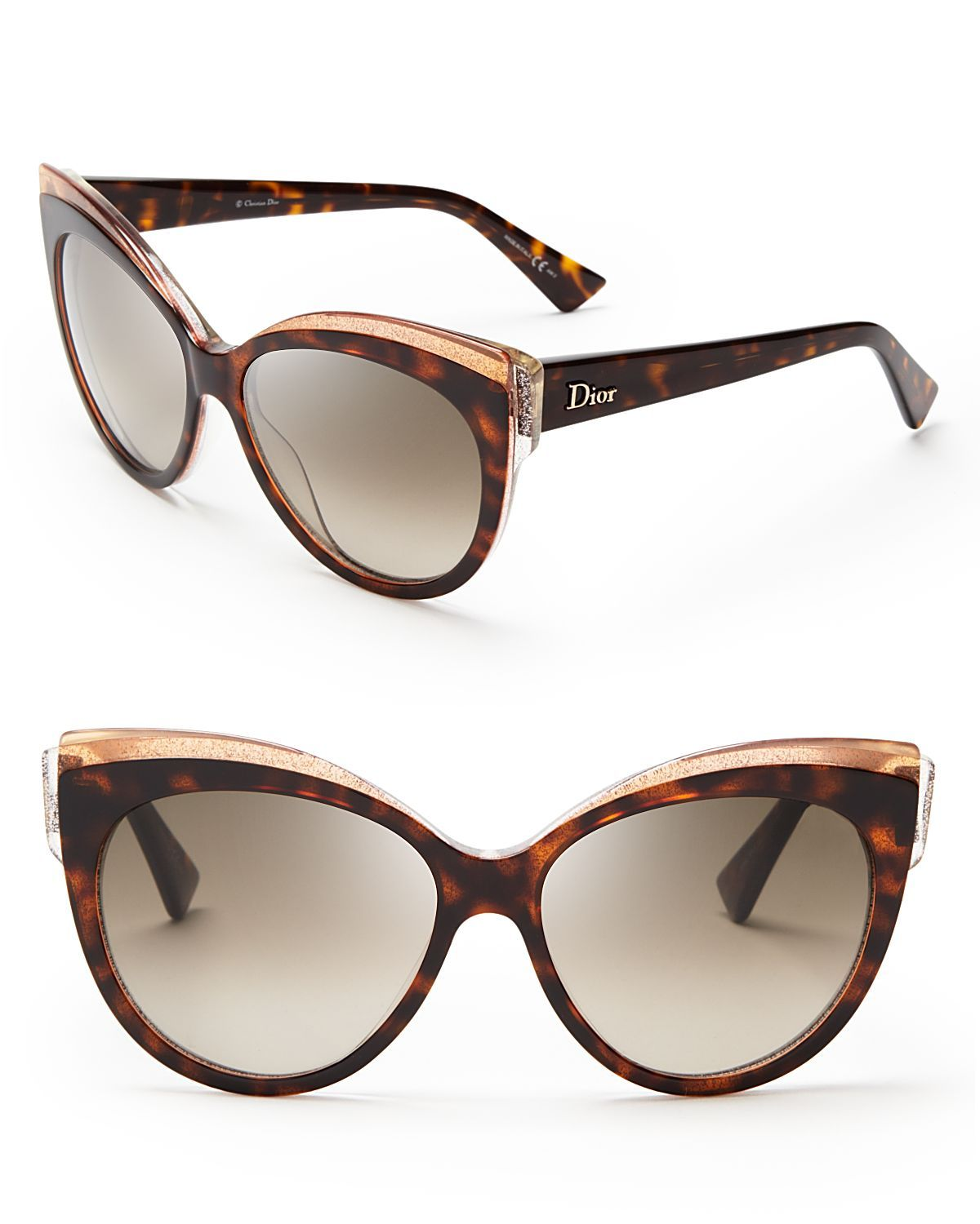 c5ab10c431 dior-brown-glisten-cat-eye-sunglasses