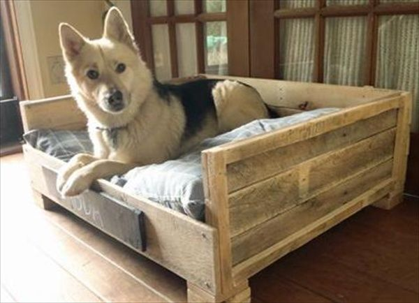 Pallet+Furniture+DIY | ... Dog Bed: Fun Filled Use of Pallet Woods | Wooden Pallet Furniture