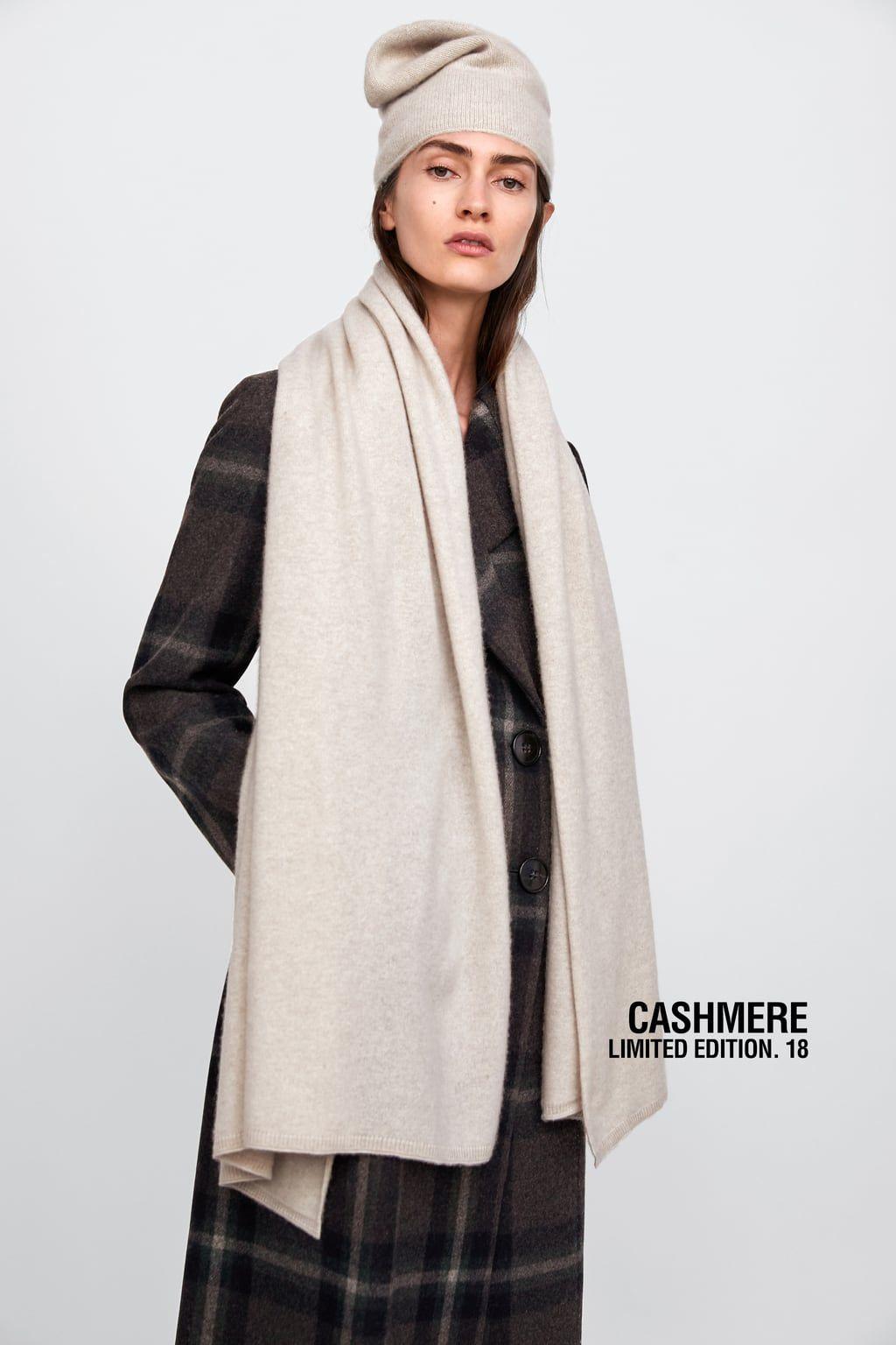 größter Rabatt klassische Schuhe suche nach neuestem Limited edition cashmere scarf | I <3 ZARA | Cashmere scarf ...