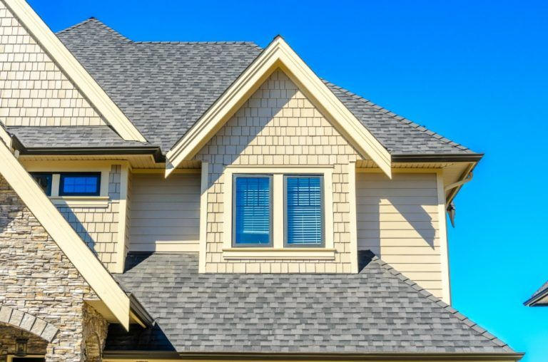 Reflective Roofing Vs Dark Roof Colors See How Roof Shingle Colors Affect Your Energy Costs Roof Shingle Colors Shingle Colors Roof Shingles