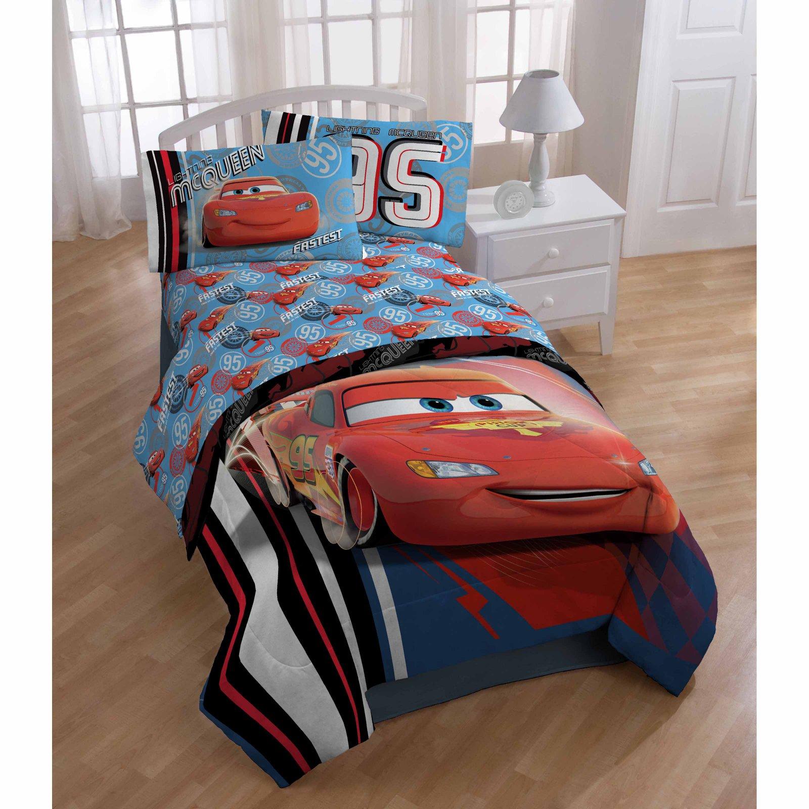 Cars 4 Piece Sheet Set by Disney Disney cars toddler bed