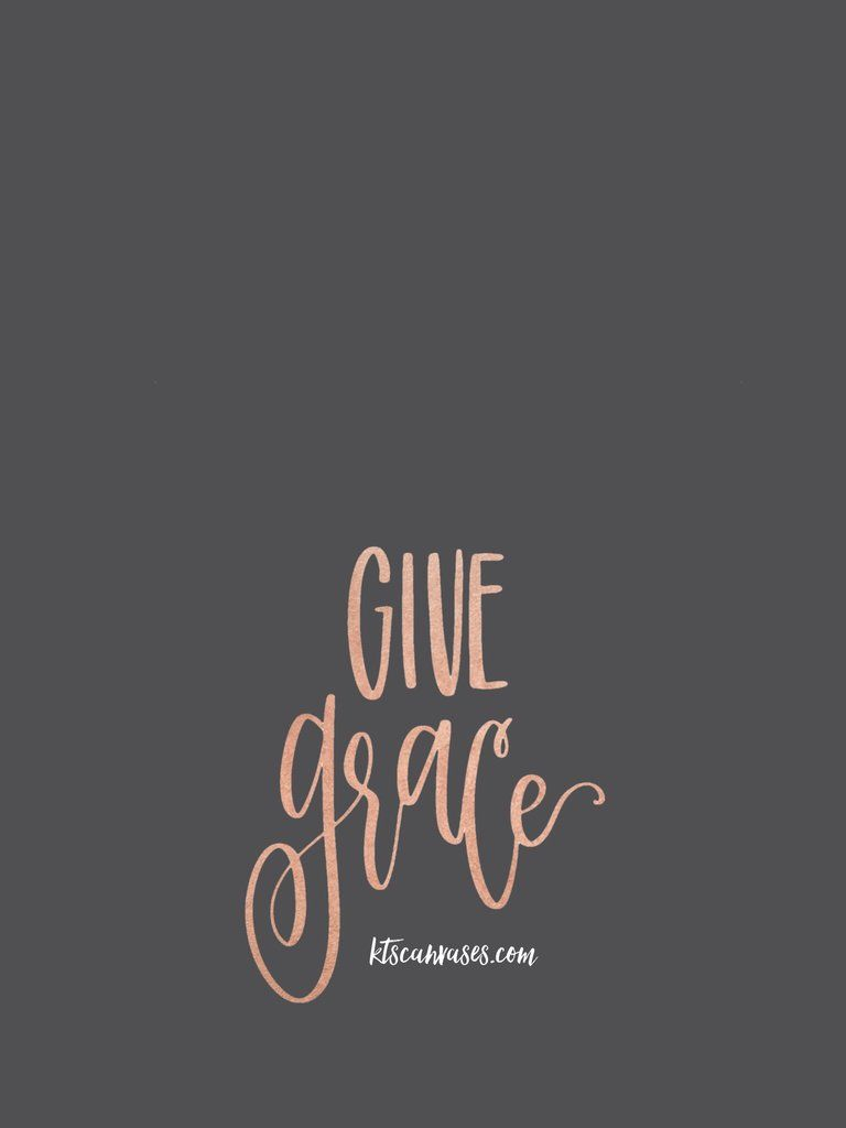 FREE Give Grace Phone Wallpaper IPhone Wallpapers Cute