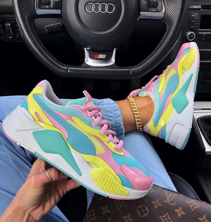 20 Sneakerhead ideas | puma rs-x, black girl outfits, sneakers fashion