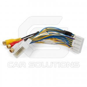This cable allows you to arrange audio and video input in Toyota