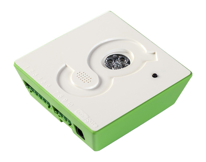 Garage door lock latch  Gogogate With Wireless Garage Door Sensor Open Close and Monitor