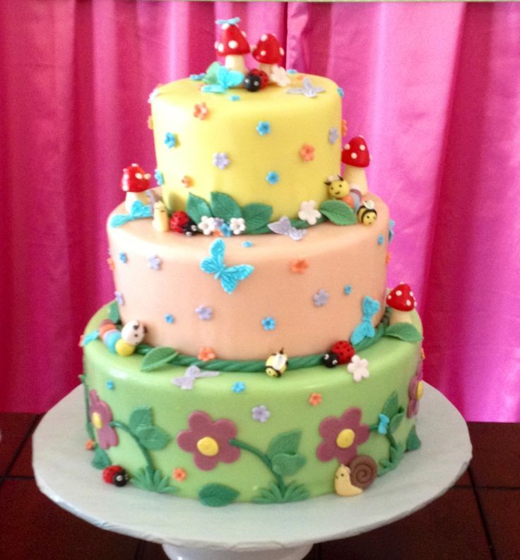 enchanted garden cake ideas Google Search Sophia Pinterest