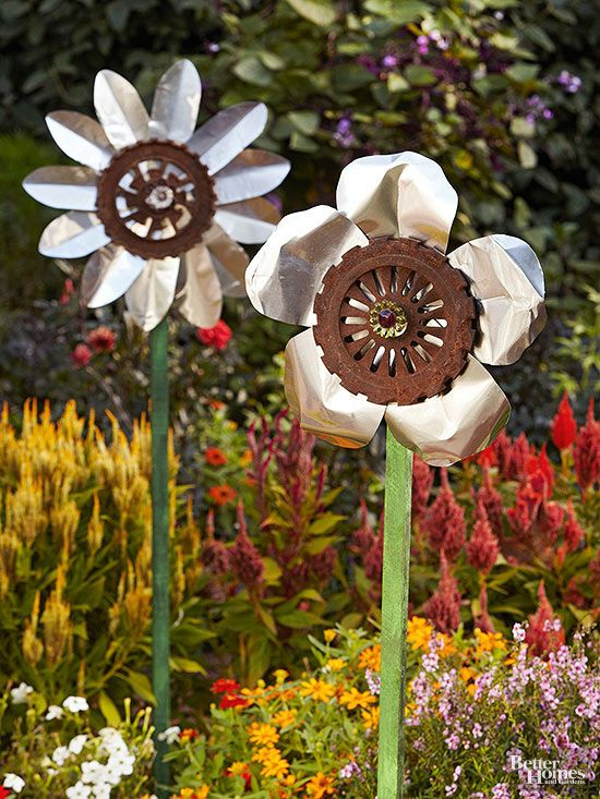 Easy Diy Garden Accents Bhg S Best Home Decor Inspiration