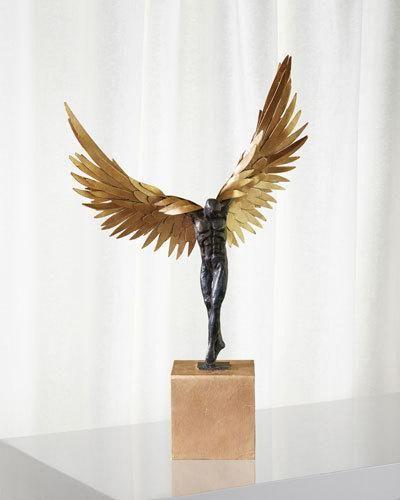Strange Global Views Avian Man Statue Products Statue Sculpture Interior Design Ideas Truasarkarijobsexamcom