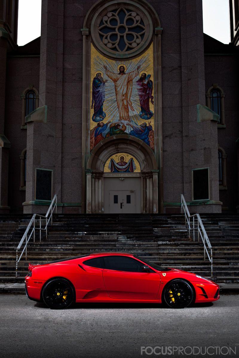 Ferrari F430 Scuderia Ill take the red devil please Cars I