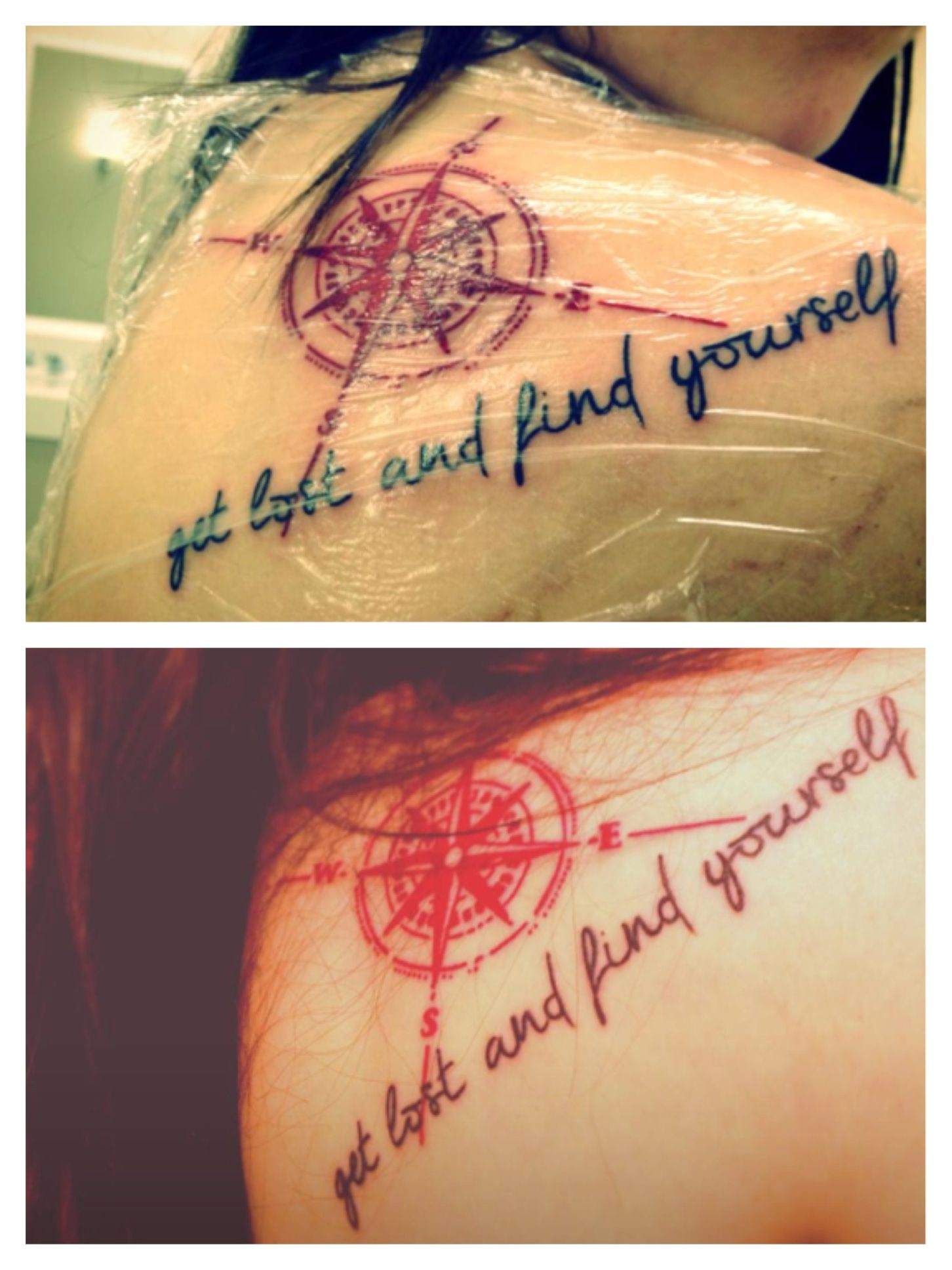 Get Lost And Find Yourself Tattoo Tattoo Quotes Tattoos