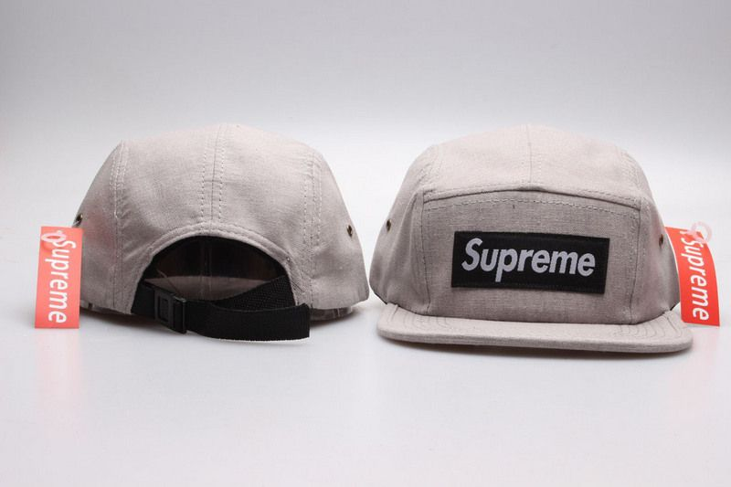 49468a82d Men's Supreme Squared Logo Patch Embroidery 5 Panel Strapback Hat ...