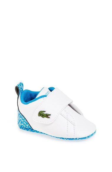b8ed348e681731 Lacoste+ Paris+Babe +Crib+Shoe+(Baby)+available+at+ Nordstrom
