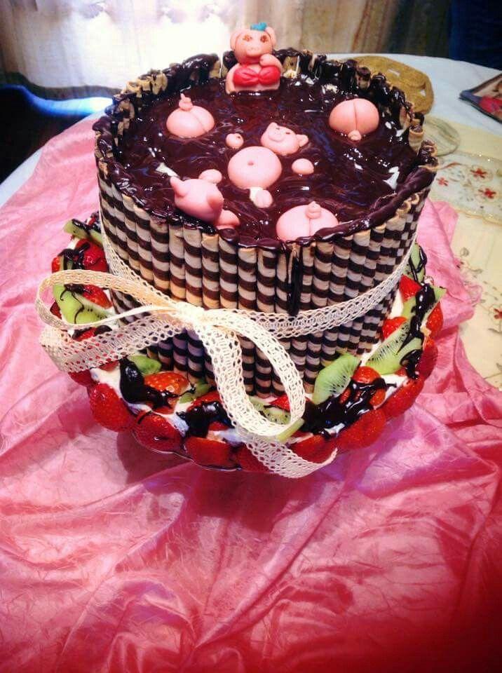 Świnki tort