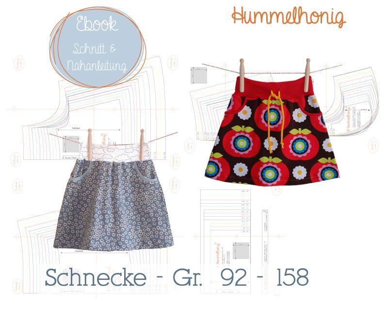 Ebook Rock Schnecke (Gr. 92-158) | Ebooks - Schnittmuster ...