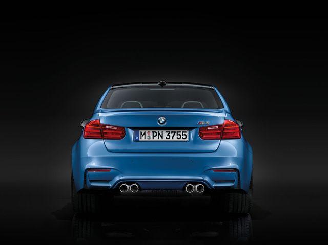 The AllNew BMW M3 Sedan And BMW M4 Coupe Bmw m3 sedan