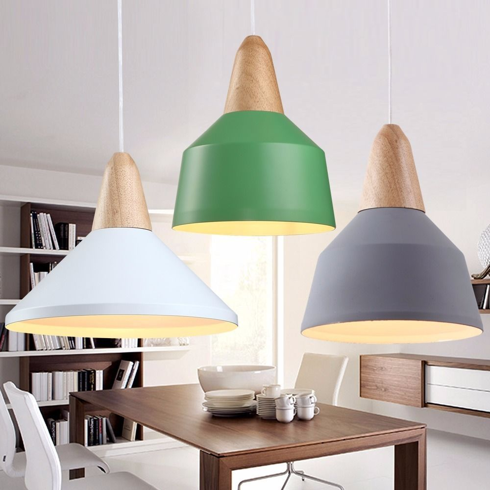 Modern Designer Scandinavian Style Retro Ceiling Pendant Lamp ...