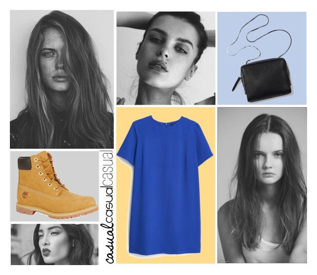 """casual"" by mairasixx ❤ liked on Polyvore featuring MANGO, Timberland, GE, Chanel, fashionset and FashionGirl"