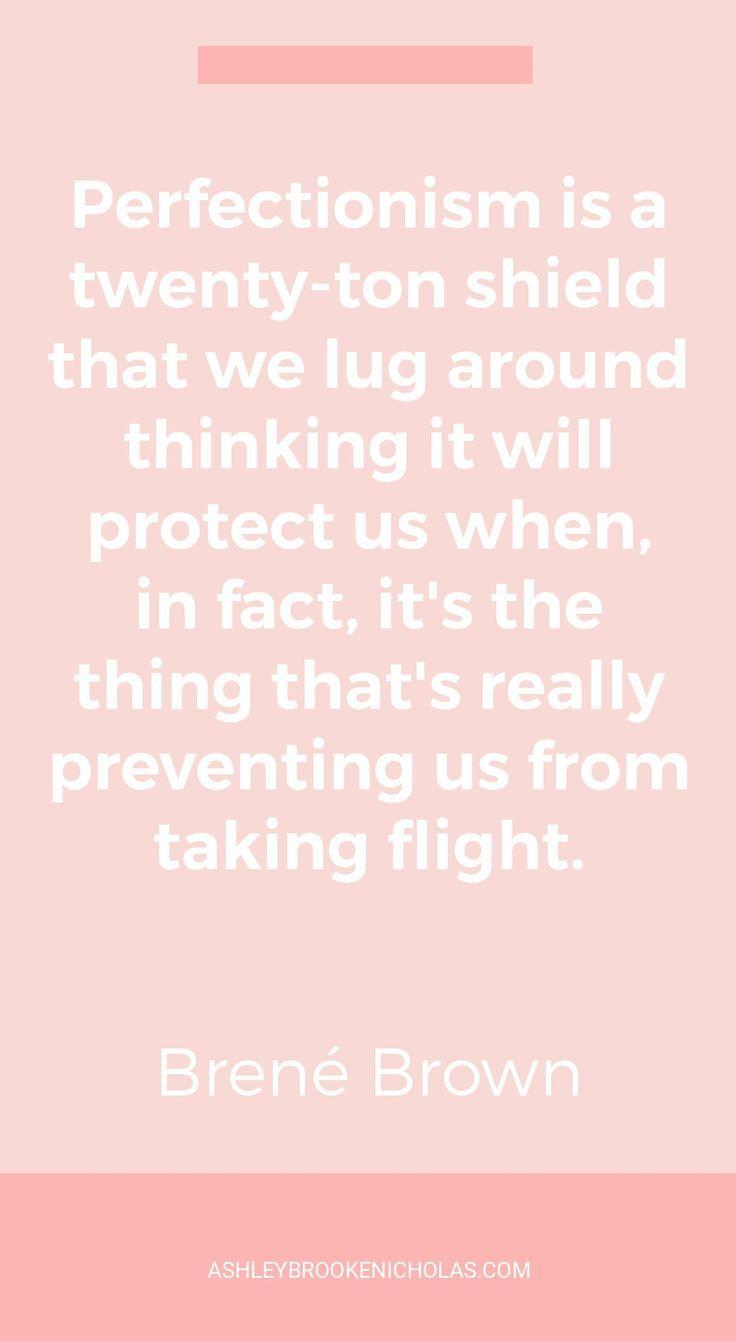 The Best Brené Brown Quotes | Ashley Brooke Nicholas