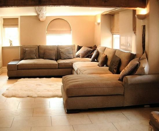 Extra large sectional sleeper sofa photo 1 sectional for Really cheap living room furniture
