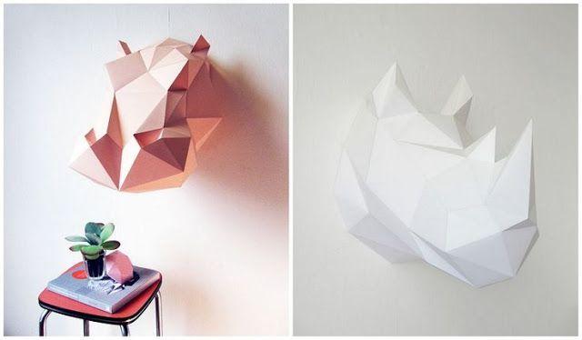 La craftidermia, una técnica en alza que se ha convertido en moda de la decoración escandinava.