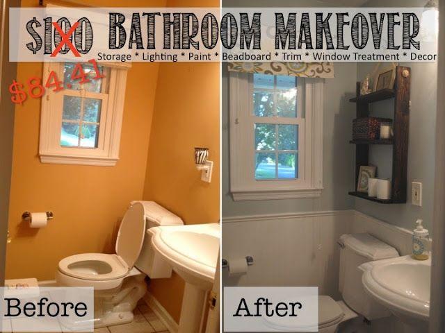 Reveal 100 Small Bathroom Makeover Bathroom Makeover Diy Bathroom Makeover Small Bathroom Makeover
