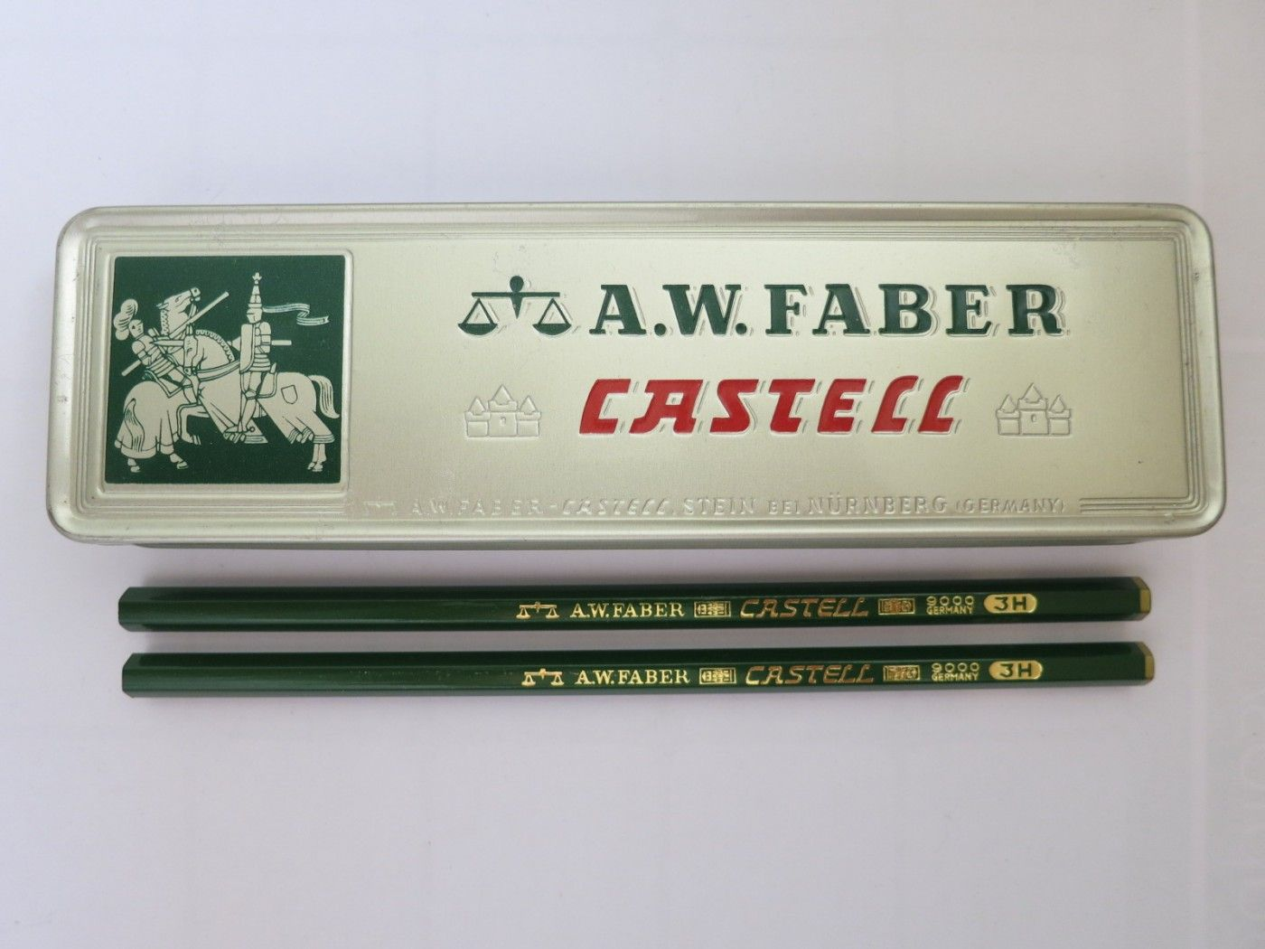 Vintage A W Faber Castell 9000 Pencil 3h Made In Germany Vintage Pencils Pencils Artist Supplies Faber Faber Castell How To Make