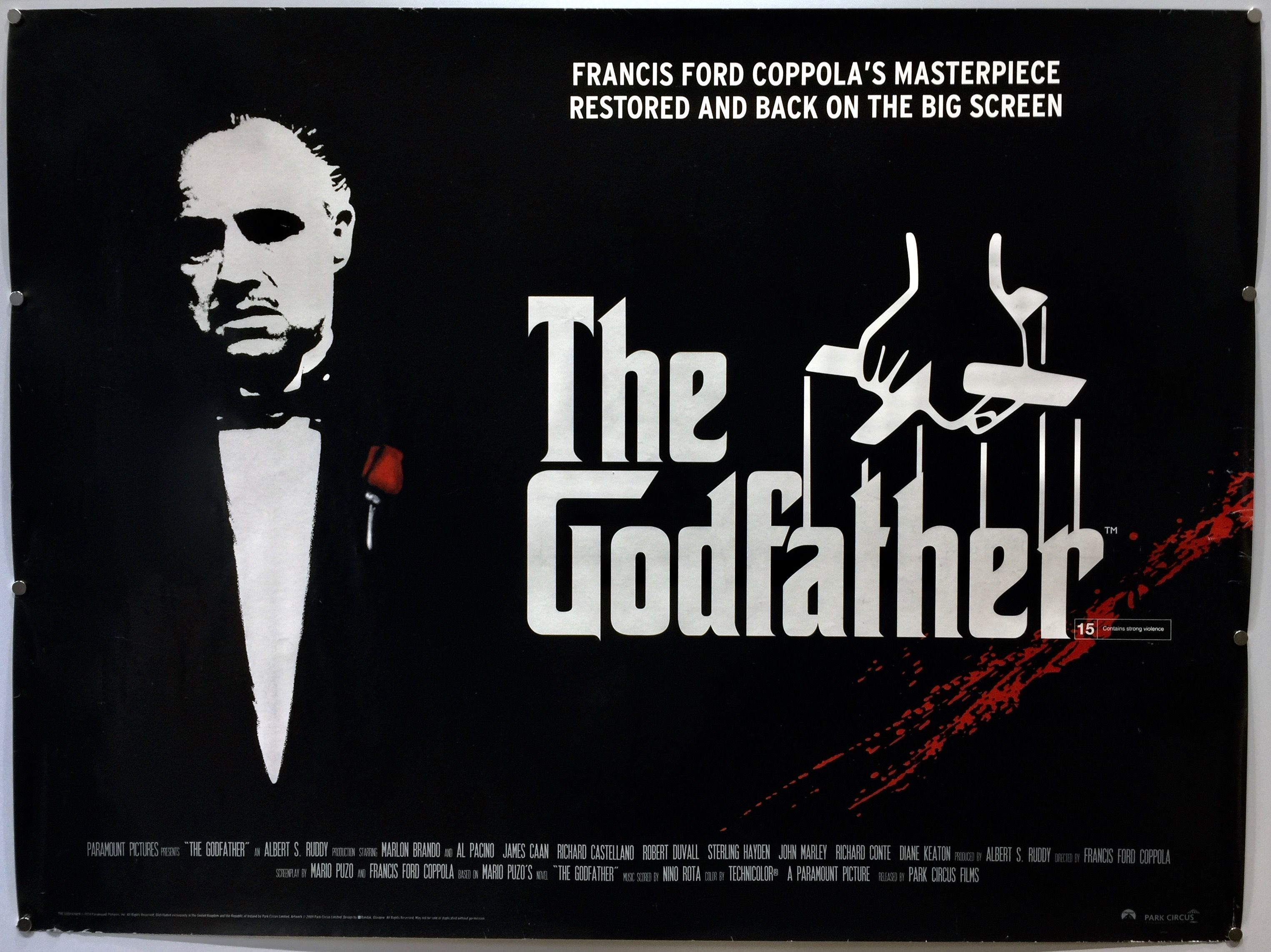 The Godfather | The godfather, Movie posters vintage, Francis ford ...