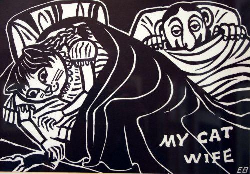 My Cat Wife | by  Edward Bawden