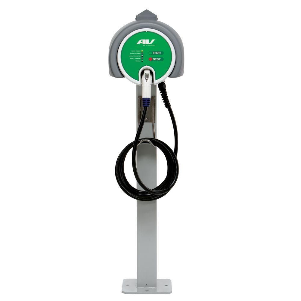 Aerovironment Evse Rs Single Charger Pedestal With 25 Cable Best Ev Chargers