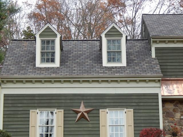 Certitude Home Improvements Roofing Services Photo Set Highland Slate Tudor Brown Roof Replacement In Phoenixville Pa Brown Roofs Roof Roofing