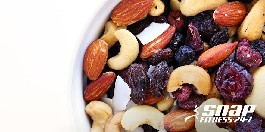 Looking for a great mid-day snack? Look no further! Our power trail mix will fill you up and keep you feeling healthy all day long!