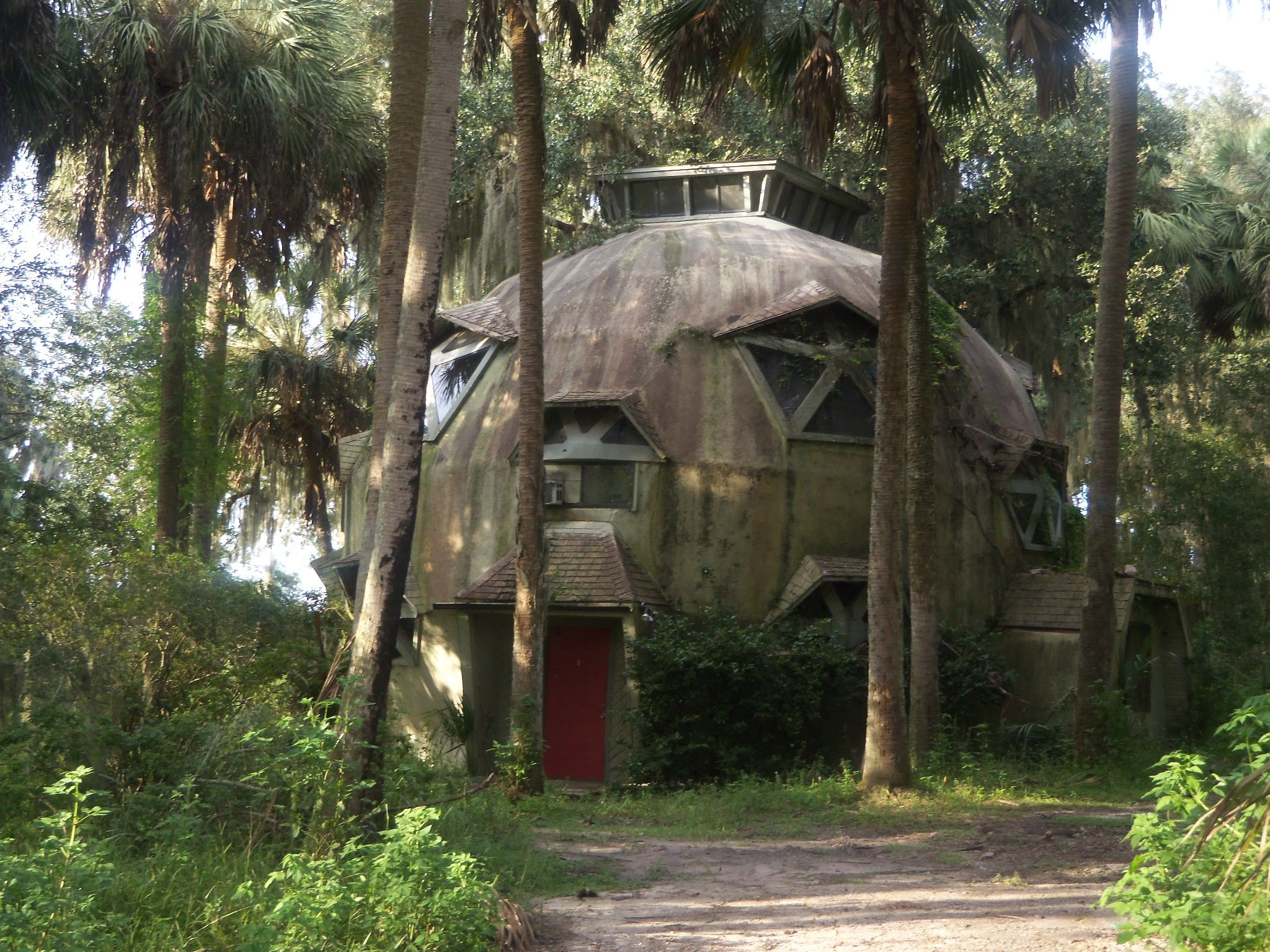 Dome House For Sale Near Gainesville Fl Off The Grid On The