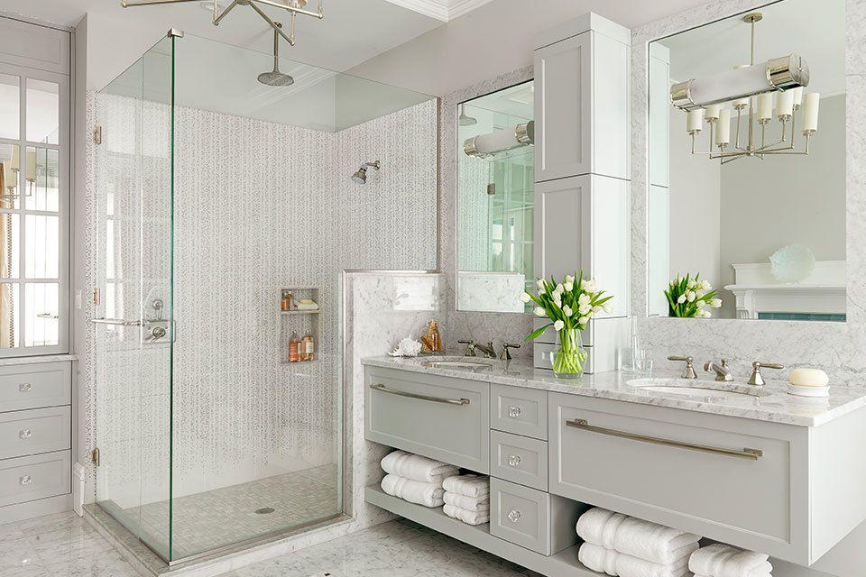 15 Luxurious Marble Bathroom Designs Floating Bathroom Vanities