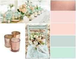 rose gold and mint color scheme google search my wedding pinterest ideen hochzeit. Black Bedroom Furniture Sets. Home Design Ideas