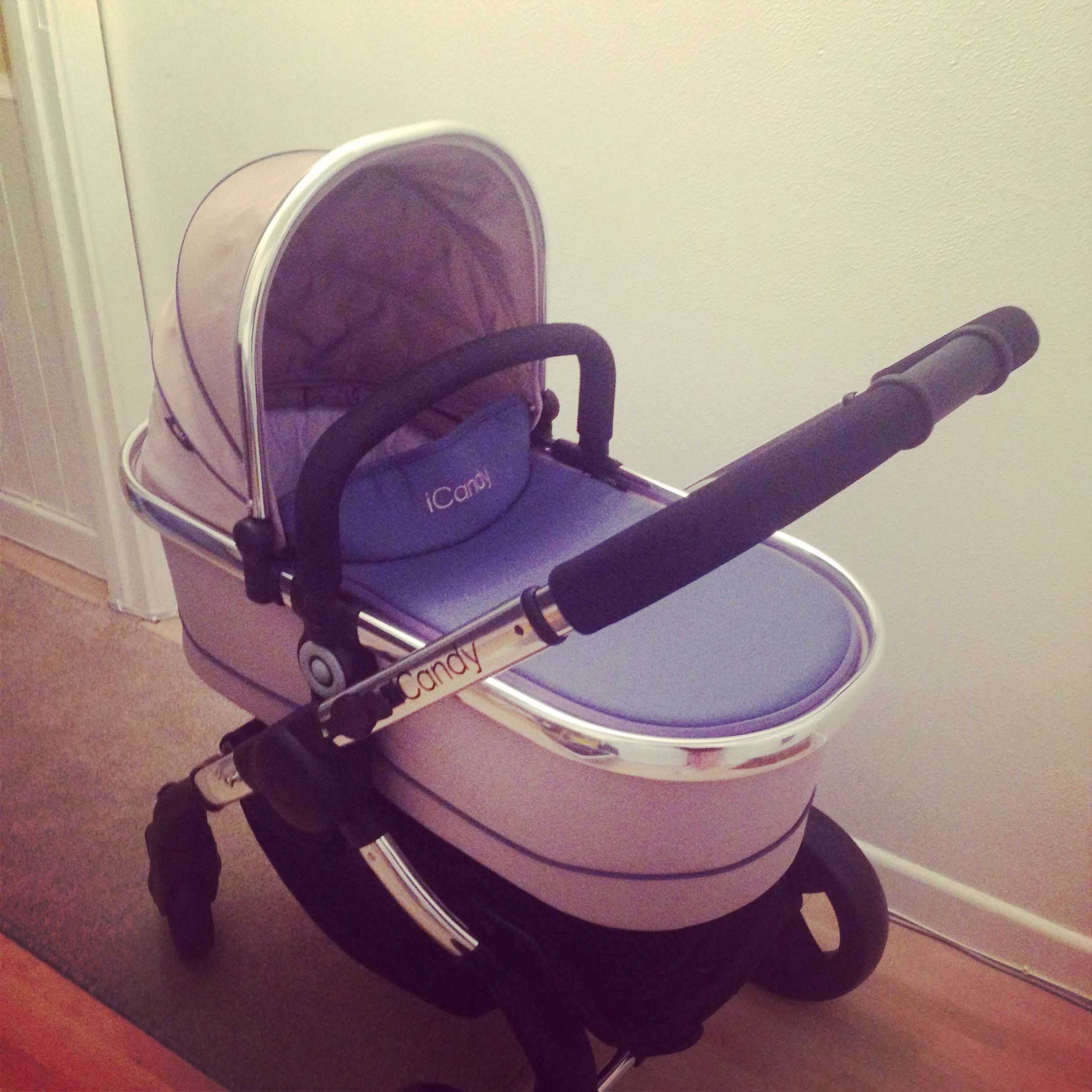 Our pram! Icandy peach 3 in azure My pregnancy Baby