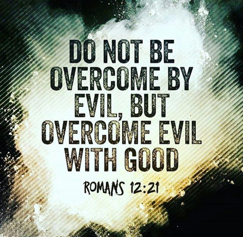 Romans 1221 faith bible inspirational hope