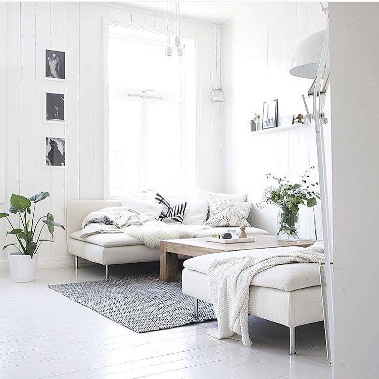 Living Room Interior Design Inspiration: Ikea 'Söderhamn' Sofa &designlykke