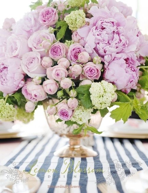 Peonies & roses-my two favourite flowers in one vase - bliss