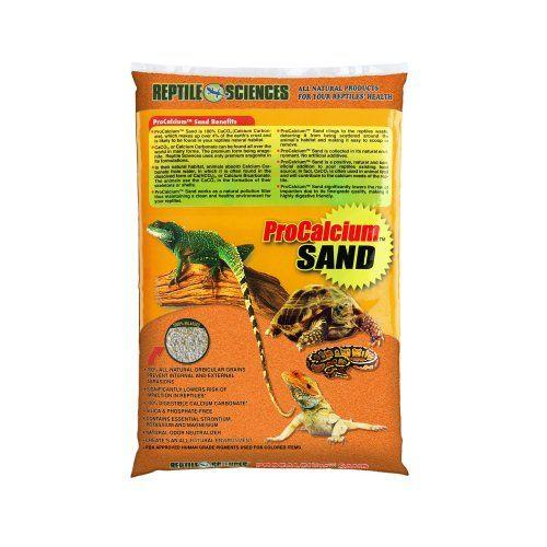 Reptile Sciences Terrarium Sand 10 Pound Orange In 2020 Reptiles Natural Odor Neutralizer Sand