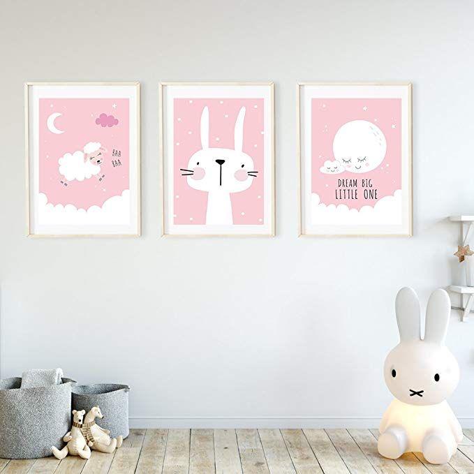 Affiliatelink Frechdax 3er Set Kinderzimmer Babyzimmer Poster Din