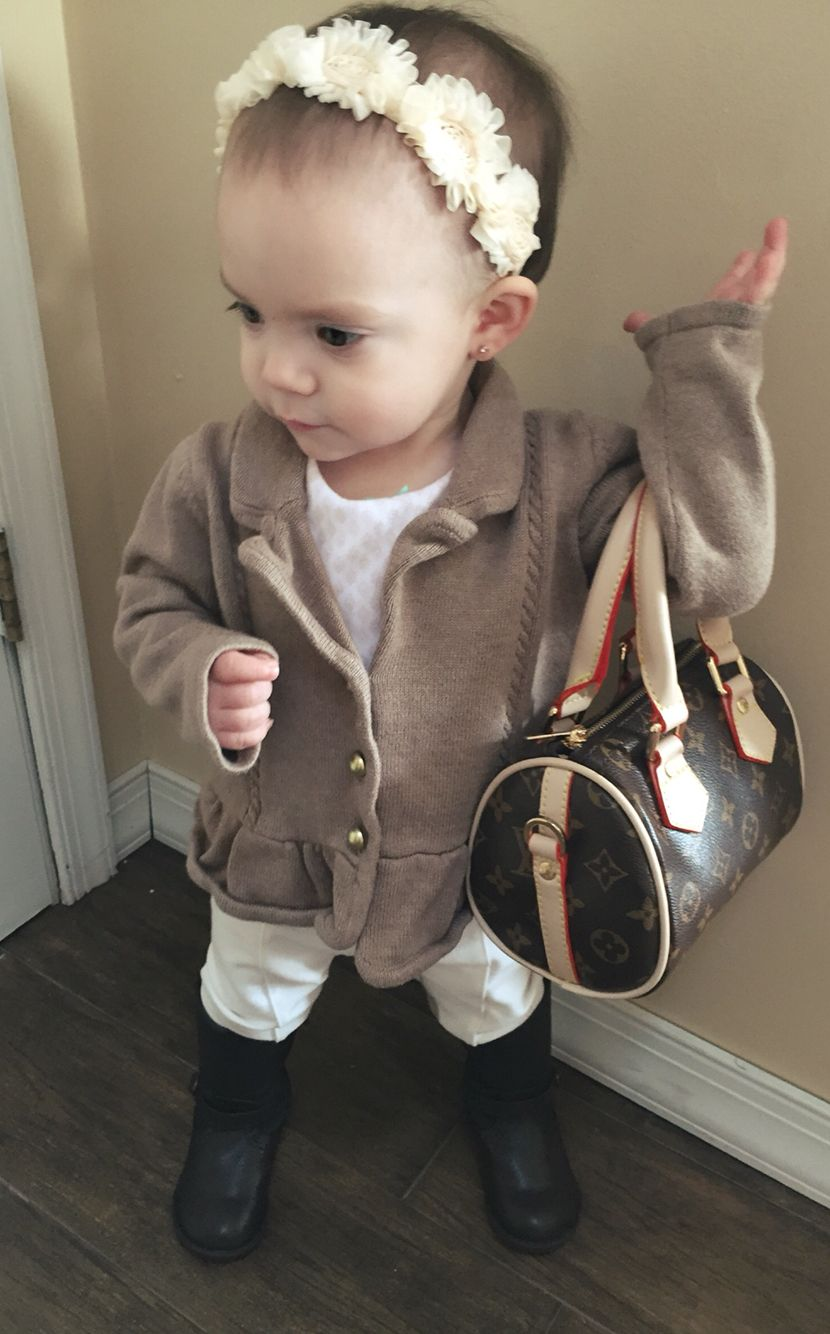 Baby Girl Louis Vuitton Handbag Kid Fashion Janie And Jack Clothing