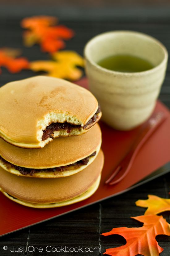 Dorayaki (Japanese Red Bean Pancake) | Recipe | Cherry ...