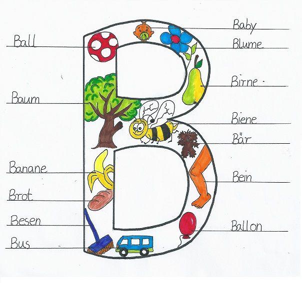 abc-blc3a4tter-b.jpg (604×567) | lernen | Pinterest | Lernen und Schule