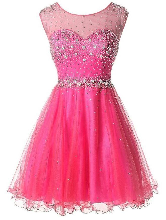 Beaded short Prom Dress Short homecoming dress I046   Adyson ...