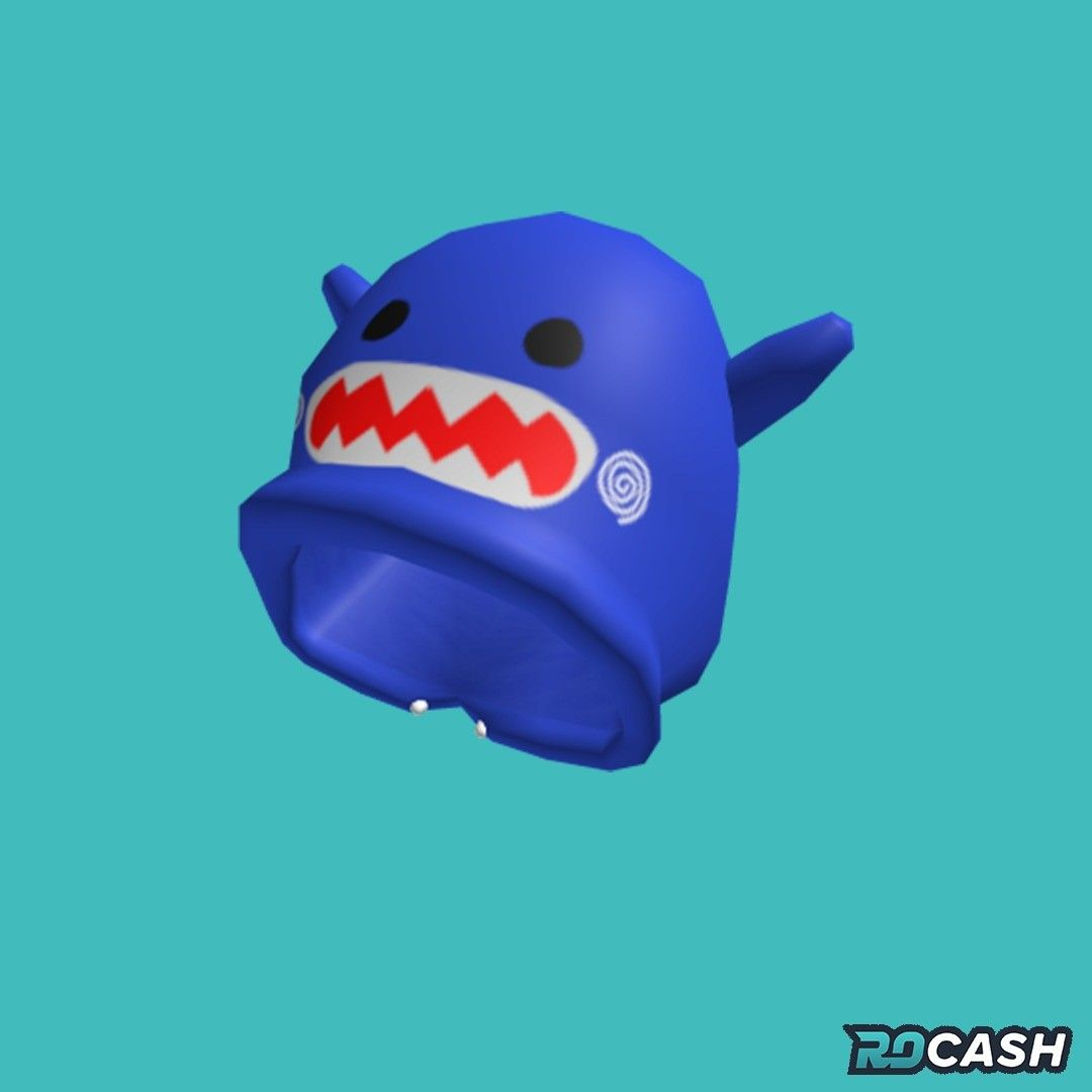 Want To Get The Blue Shark Hood For Free You Can Earn Robux On Rocash And Withdraw Directly To Your Roblox Account Click The Link In In 2020 Anime Blue Shark Roblox
