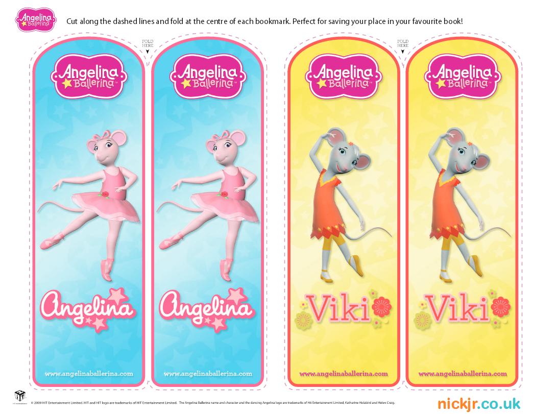 Vistoso Angelina Bailarina Para Colorear Páginas Para Imprimir ...