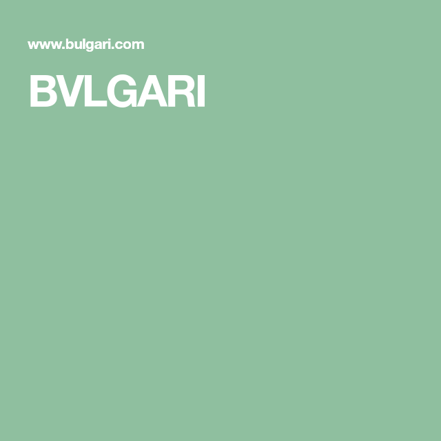 Bvlgari Clothes I Love Italian Jewelry Bvlgari Ring Size Guide