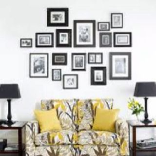 Picture Frame Collage Decorar Paredes Con Fotos Decoracion De
