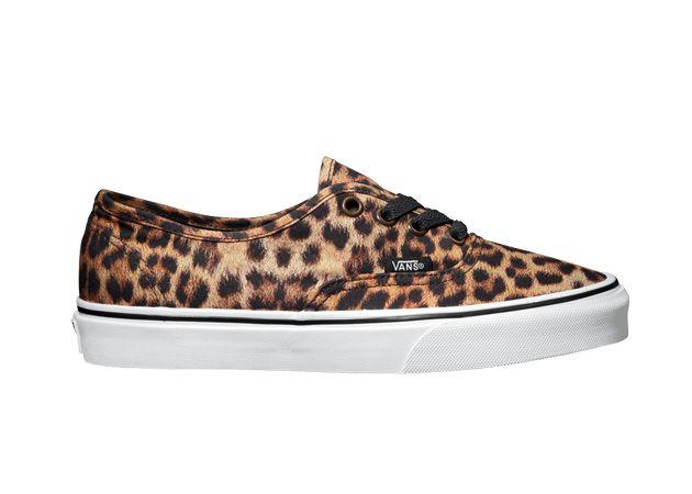 vans femme leopard noir