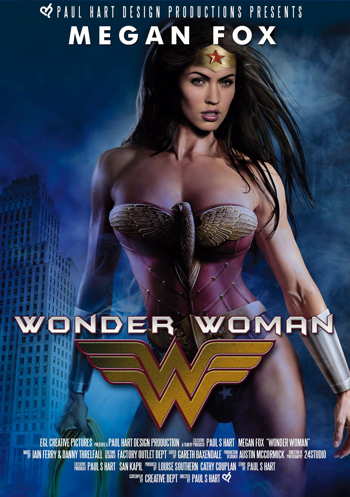 fox as movie woman Megan wonder